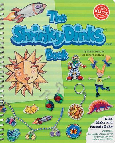 THE SHRINKY DINKS BOOK FUN EDUCATIONAL KIDS KLUTZ ACTIVITY BOOK /& KIT