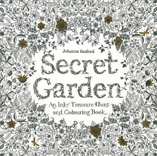 - Secret Garden: An Inky Treasure Hunt And Coloring Book - A2Z Science &  Learning Toy Store