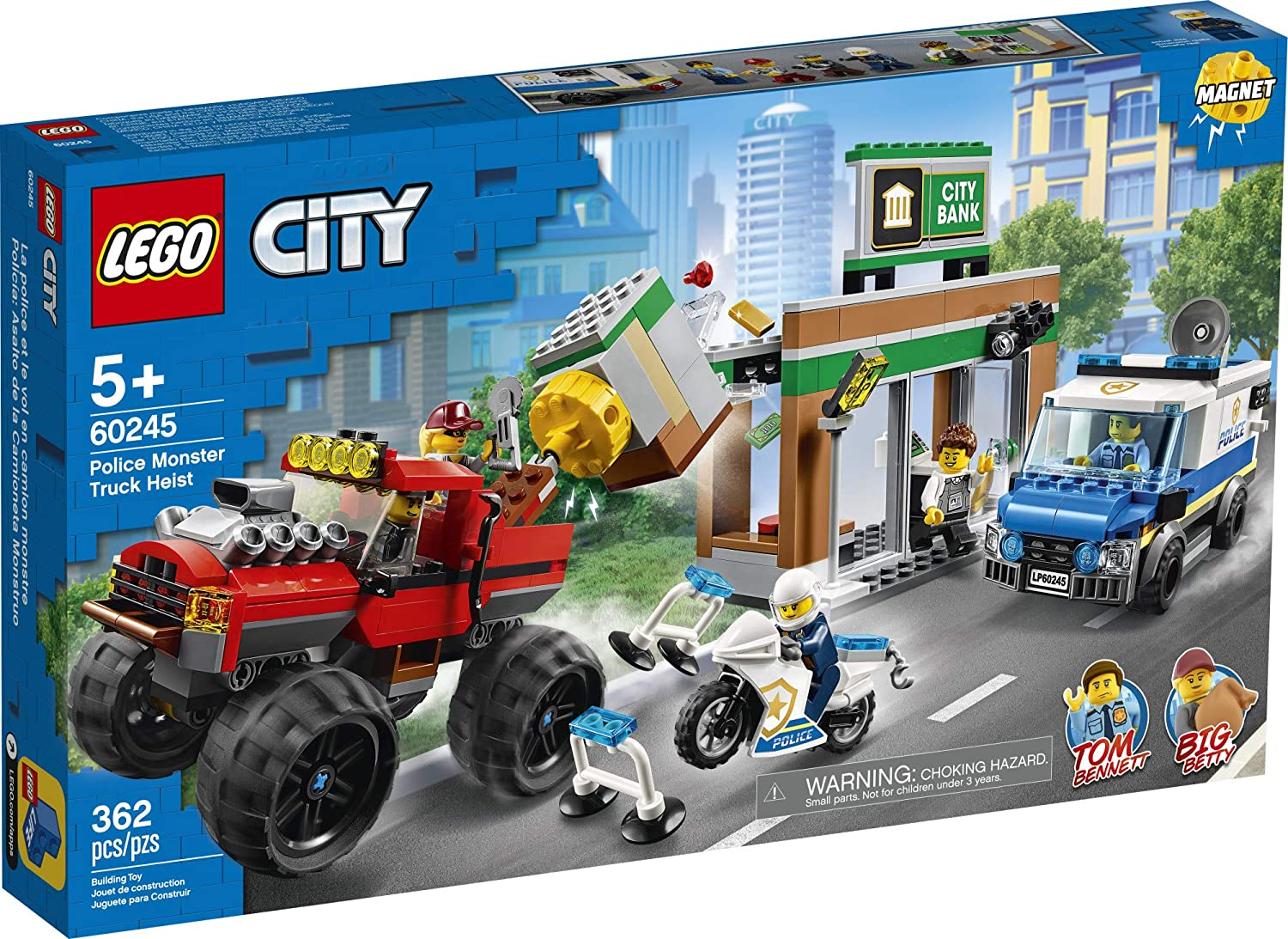 City Police Monster Truck Heist A2z Science Learning Store