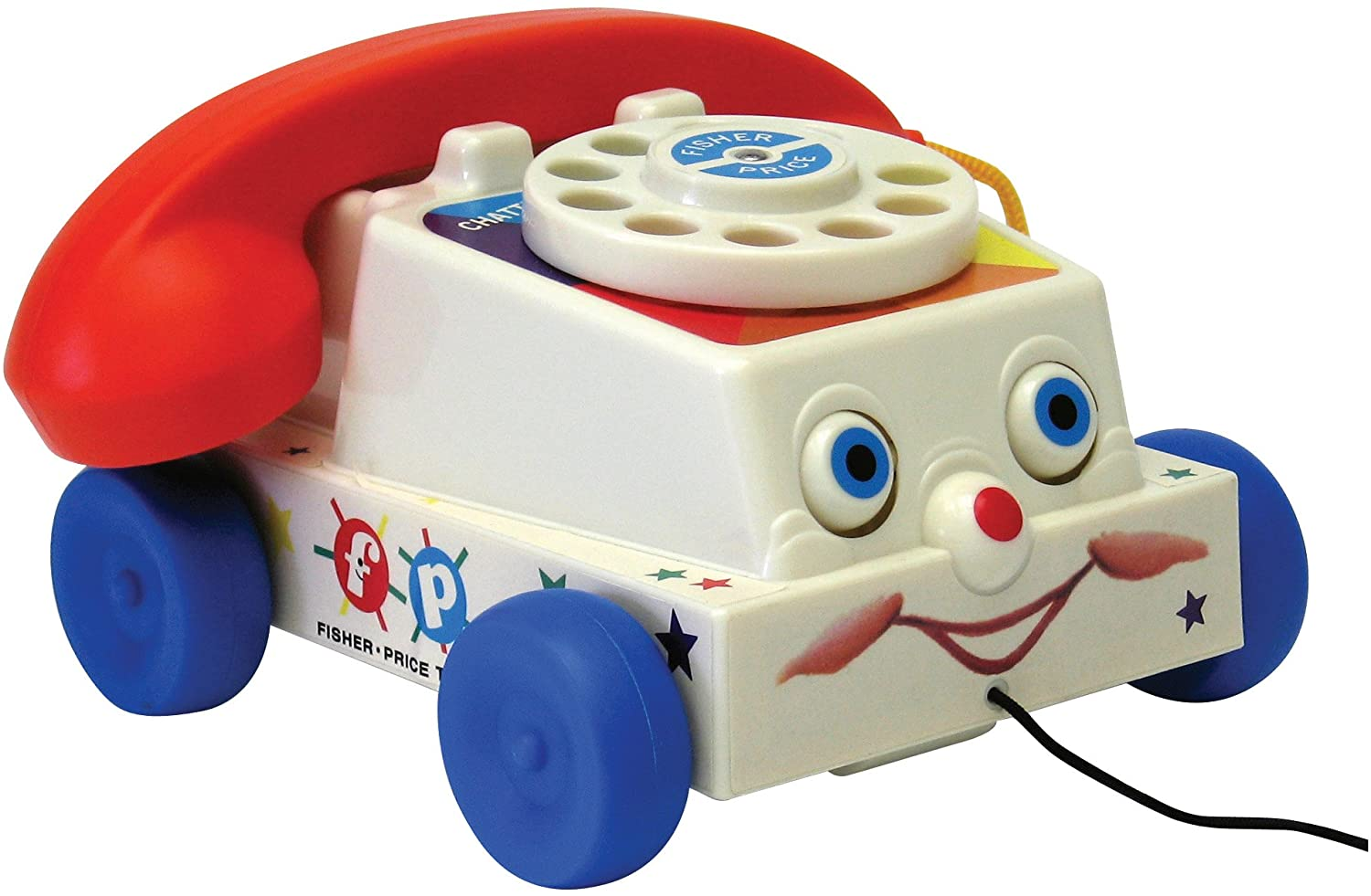 Fisher Price Chatter Phone A2z Science Learning Toy Store