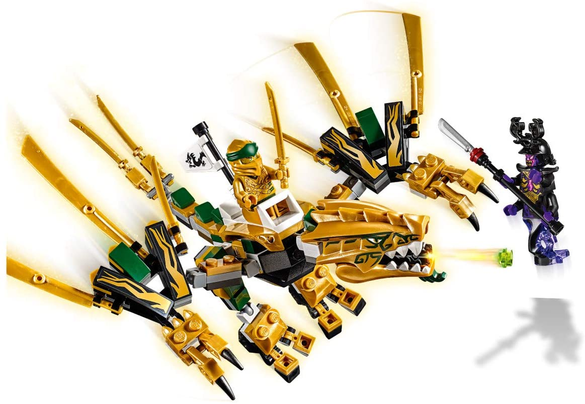 Ninjago The Golden Dragon A2z Science Learning Store