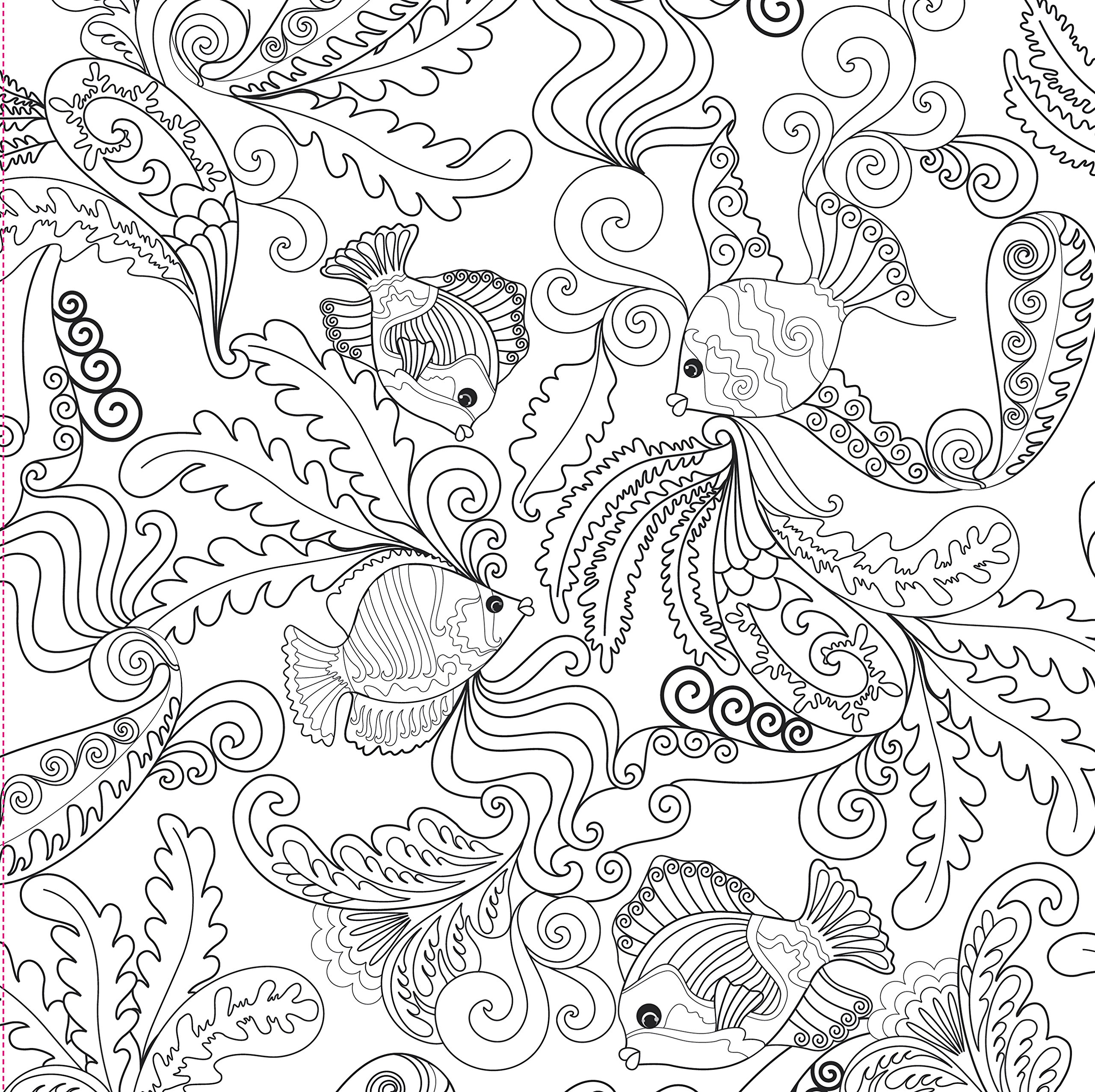 - Ocean Designs Artist's Coloring Book - A2Z Science & Learning Store