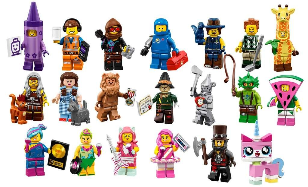 The Lego Movie 2 Minifigures A2z Science Learning Store